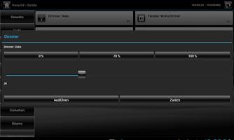 Screenshot of Home24-Tablet HomeMatic