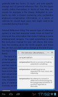 Screenshot of Popup Dictionary