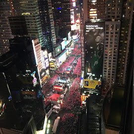 Times Square New Year's Eve by Brent Hagie - Instagram & Mobile iPhone (  )