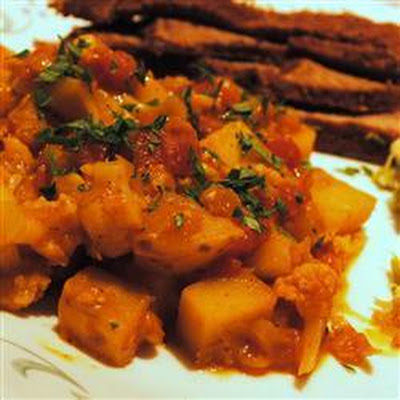 Madras Potato Curry