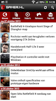Screenshot of Gamer.nl