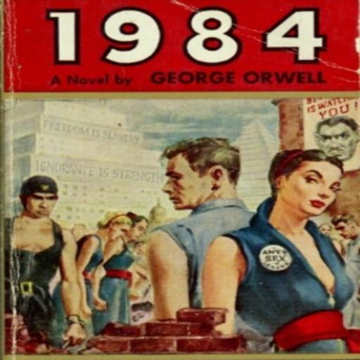 1984  by George  Orwell LOGO-APP點子