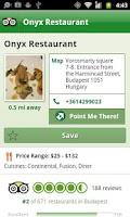 Screenshot of Budapest City Guide