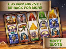 Screenshot of Egypt Slots Casino Machines