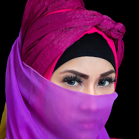 HIJABERS by Dimas Winarto - People Portraits of Women ( beauty, hijab, women, potraits )