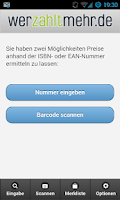 Screenshot of Werzahltmehr Recommerce-App