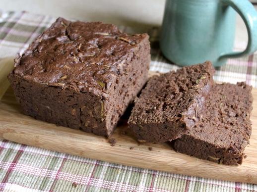 Gluten-Free Vegan Chocolate Zucchini Bread
