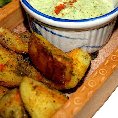 Crispy Spice Rubbed Potato Skins