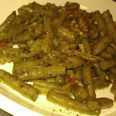 Chinese Peppered Green Beans