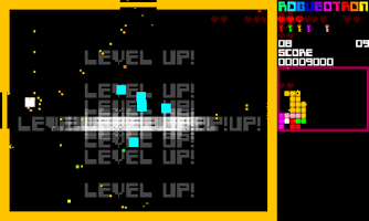 Screenshot of Rogueotron (#1gam edition)