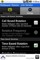 Screenshot of Wallpaper Rotator Lite