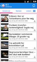 Screenshot of Danmark Nyheder