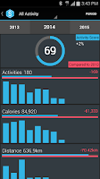 Screenshot of SportsTracker Running & Biking