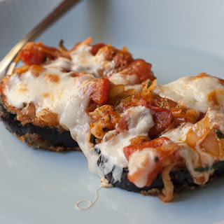 Eggplant Parmesan with Zucchini