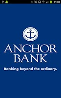 Screenshot of Anchor Bank Mobile Application