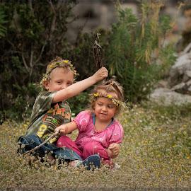 Spring games by Оксана Павлова - Babies & Children Children Candids ( children, spring )