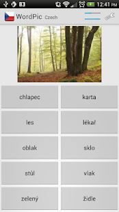 Learn Czech with WordPic - screenshot