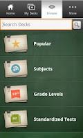Screenshot of Dictionary.com Flashcards