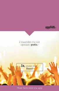appFAN - screenshot