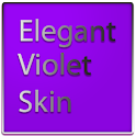 Elegant Violet Keyboard Skin icon