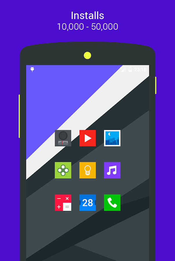 Goolors Square - icon pack Screenshot 16