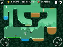 Screenshot of Flappy Golf
