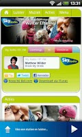 Screenshot of Sky Radio 101 FM