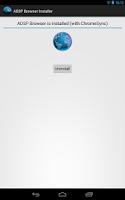 Screenshot of [ROOT]AOSP Browser Installer