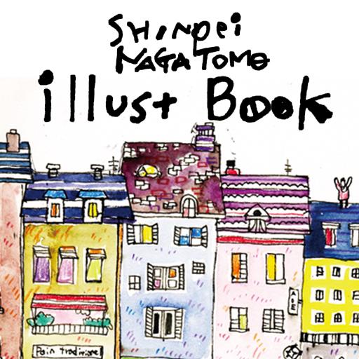 Shinpei illust Book -ART- LOGO-APP點子