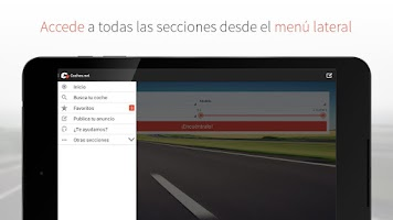Screenshot of coches.net: anuncios de coches