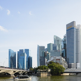 Singapore! by Qin Jue Hang - City,  Street & Park  Skylines ( d610, cityscape, singapore )