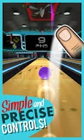 Screenshot of Rocka Bowling 3D
