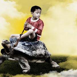 numpak kura by Nuki Irawan Adi Saputro - Digital Art Animals