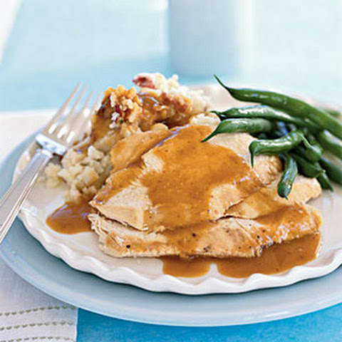 Garlicky Roasted Chicken With Garlic Jus On Garlic Toast Recipes ...