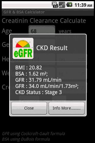 玩免費醫療APP|下載GFR & BSA Calculator app不用錢|硬是要APP