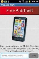 Screenshot of Free Anti Theft