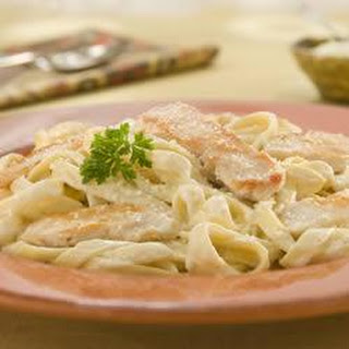 Chicken Alfredo with Fettuccine