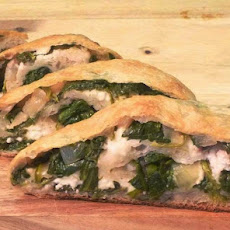 Spinach and Feta Stuffed Bread