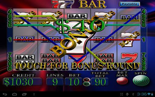 7's BAR Vegas Slot Machine