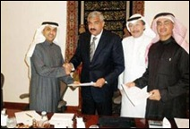 Hisham with Arab investors