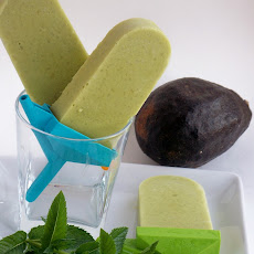 Avocado Pineapple Popsicles