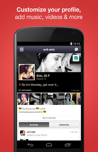 Moco+ - Chat, Meet People - screenshot