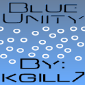Blue Unity CM7 Theme (Black) icon