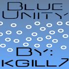 Blue Unity CM7 Theme (Black) icon