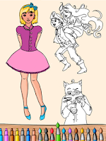 Screenshot of Coloring Book-Paint Draw Kids