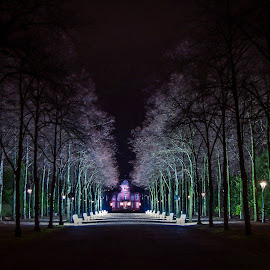 by Zoran Rudec - City,  Street & Park  Night ( city parks, night )