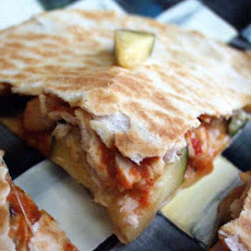 Zucchini and Tuna Quesadillas