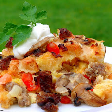 Savory Breakfast Bake