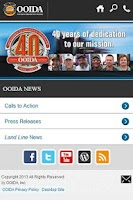 Screenshot of OOIDA News