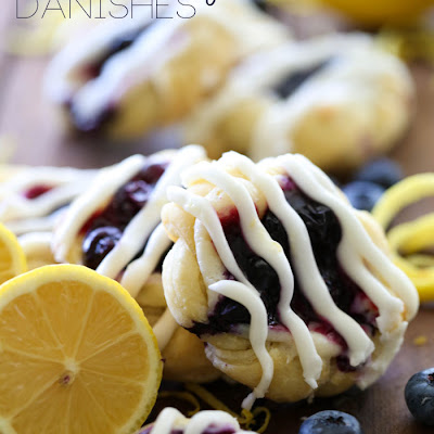 Lemon Blueberry Danishes